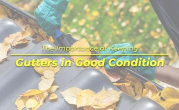 The Importance of Keeping Gutters in Good Condition